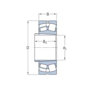 Сферический роликоподшипник на стяжной втулке 21318 EK + AHX 318